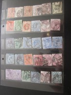 Royaume Uni GB UK England  > 30  Timbres Perforé Perforés Perfins Perfin Perforated Perforatis Perforierte Breif Mark - Great Britain