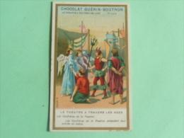 CHOCOLAT GUETRIN BOUTRON, Le Théatre à Travers Les Ages, Les Confrères De La Passio - Guerin Boutron