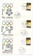 ALLEMAGNE - 53 Enveloppes - Oblitérations Temporaires - Les Lieux Et Les épreuves - Belle Série 1972 - Sommer 1972: München