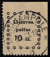~~~ Lithuania 1919 - Kaunas Issues - Mi. 13 (o) Used ~~~