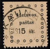 ~~~ Lithuania 1919 - Kaunas Issues - Mi. 14  (o) Used ~~~