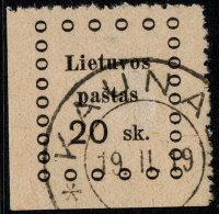 ~~~ Lithuania 1919 - Kaunas Issues - Mi. 15  (o) Used ~~~