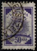 ~~~ Letland Latvia 1919 - Symbolics -  Perf 11½ - Mi. 13 A (o) Used - Cat. 10.00 Euro ~~~ - Letland