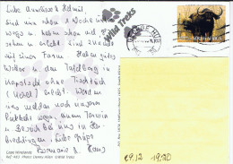 RSA+ Südafrika 2007 Mi 1747 Kaffernbüffel Auf Postkarte - Afrique Du Sud (1961-...)