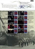 GREAT BRITAIN - 2011   PRICE PHILIP'S BIRTHDAY   COMMEMORATIVE SHEET - Fogli Completi
