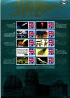 GREAT BRITAIN - 2010   HALLEYS  COMET  COMMEMORATIVE SHEET - Fogli Completi