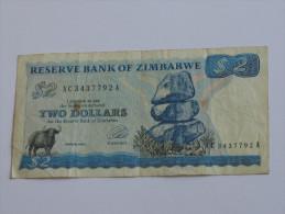 2 Two  Dollars 1994 - Reserve Bank Of ZIMBABWE **** EN ACHAT IMMEDIAT **** - Simbabwe
