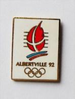 Pin's JO Albertville 92 JEUX OLYMPIQUES - Jeux Olympiques