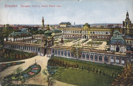 Allemagne - Dresden - Zwingen - Hotel Weber - Postmarked  1933 - Dresden