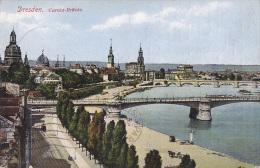 Allemagne - Dresden - Carola-Brücke - Postmarked  1935 - Dresden