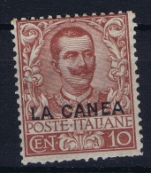 Italy: Levant La Canea 1905 Nr 6 MH/*  Irregular Perforation/dentelure - Buitenlandse Kantoren