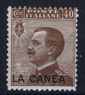 Italy: Levant La Canea 1905 Nr 18 MH/* - 11. Oficina De Extranjeros