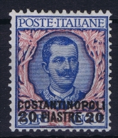 Italy: Levant Constantinopoli Sa Nr 26 MH/* - Europese En Aziatische Kantoren