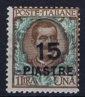 Italy: Levant  Sa Nr 65  1922 MH/* - Europese En Aziatische Kantoren