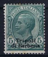 Italy: Levant Tripoloi Di Barberia  Sa Nr  3 MH/* - 11. Foreign Offices