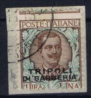 Italy: Levant Tripoloi Di Barberia  Sa Nr  9 Used - Bureaux D'Europe & D'Asie