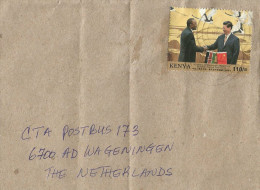 Kenya 2014 Nairobi China Diplomatic Relations Presidents Kenyatta Li Ping Cover - Kenia (1963-...)