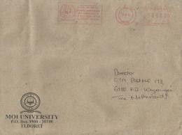 "Kenya 2013 Eldoret Meter Franking Pitney Bowes-GB ""5000"" PB012 School Of Medicine Moi University Cover - Kenia (1963-...)"