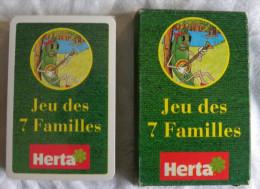 Jeu de Cartes 7 Familles  HERTA - L�gume fruit Champignon Poire Fraise Pomme Radis Petit Pois sous blister