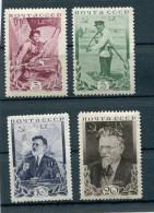 RUSSIA YR 1935,SC 573-76,MI 532-35,MNH **,CHAIRMAN MIKHAIL KALININ - 1923-1991 UdSSR
