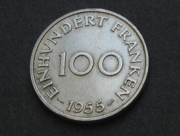 100 Einhundert Franken 1955 - SARRE  **** EN ACHAT IMMEDIAT ***** - Sarre