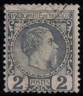 ~~~ Monaco 1885 - Charles III - Mi. 2 (o) Used - Cat. 30.00 Euro ~~~ - Monaco
