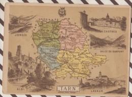 4AG1607 CHROMO HACHETTE Géographique + Vues Département VENDEE OLONNE LUCON NOIRMOUTIER - Géographie