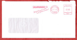 Brief, Francotyp-Postalia B66-4140, Ich Fuehl Mich Wohl Mit Salamander, 100 Pfg, Kornwestheim 1997 (60948) - Covers & Documents