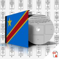 CONGO [DEMOCRATIC REPUBLIC] STAMP ALBUM PAGES 1952-1963 (43 Pages) - Software
