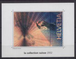 Schweiz - Vignetten-Block Aus Der Jahreszusammenstellung Von 2002 - Blocks & Kleinbögen