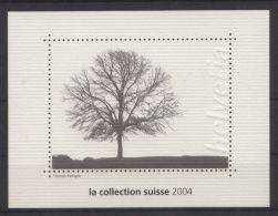 Schweiz - Vignetten-Block Aus Der Jahreszusammenstellung Von 2004 - Blocks & Kleinbögen