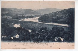 REF 201 CPA U.S.A. United States Up The Delaware Del Water Gap Park 1905 - NY - New York