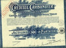Roumanie: CREDITUL CARBONIFER - Actions & Titres