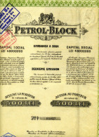 Roumanie: PETROL BLOCK - Shareholdings
