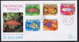 Suriname FDC Y/T 681 / 685