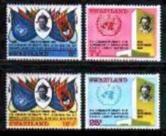SWAZILAND, 1969, Mint Never Hinged Stamp(s), U.N.O., MI Nr, 175-178, #6617 - Swaziland (1968-...)