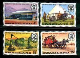 SWAZILAND, 1974, Mint Never Hinged Stamp(s), U.P.U. ,MI Nr, 214-217, #6630 - Swaziland (1968-...)