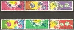 Togo 1964 Mi# 446-451 A Used - Intl. Quiet Sun Year / Space Satellites