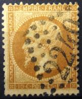 FRANCE                N° 21            OBLITERE - 1862 Napoleon III