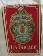 Jeu de 32 Cartes � Jouer La Ducale Publicitaire Cr�me de Cassis G. ROCHEFRETTE Dijon  - Carte Pub