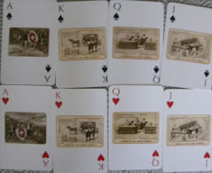 Jeu de 54 Cartes � Jouer Publicit� Chocolat FAVARGER Playing cards Boite M�tal - Pub Carte