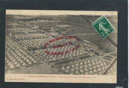 k957 - Camp de Sissonne Vue panoramique  - Militaria WW1 (02- Aisne)