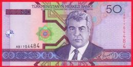 Turkmenistan 50 Manat 2005 UNC    # P- 17 - Turkmenistan