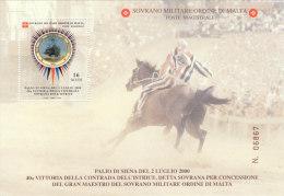 SMOM 2000 PALIO DI SIENA CONTRADA SOVRANA DELL'ISTRICE - BF INTEGRO