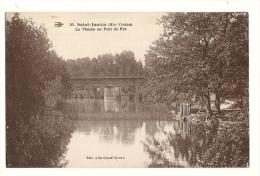 cp, 87, Saint-Junien, La Vienne au Pont de Fer