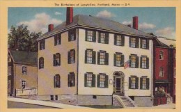 The Birthplace Of Longfellow Portland Maine