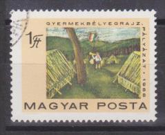 Hungary Mi 2462 50 Years Of Hungarian Communist Party - Children - Flags - Camp - 1968 - Hongarije