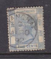 Hong Kong Used In China, 10 Cents Green, (FO)OCHOWI , 1902 - Hong Kong (...-1997)