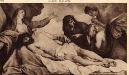 MUSEE D'ANVERS - A. VAN DYCK  - Le Christ Au Tombeau - Peintures & Tableaux