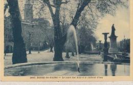 Dep 04 - Digne - Le Cours Des Arés Et Le Château D'eau  : ACHAT IMMEDIAT - Digne